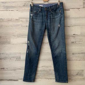 Gap 1969 Always Skinny Distressed Jeans 27/4